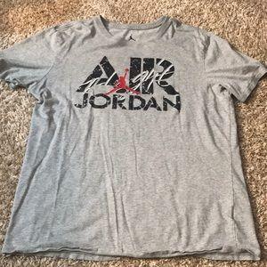Air Jordan size large T-shirt